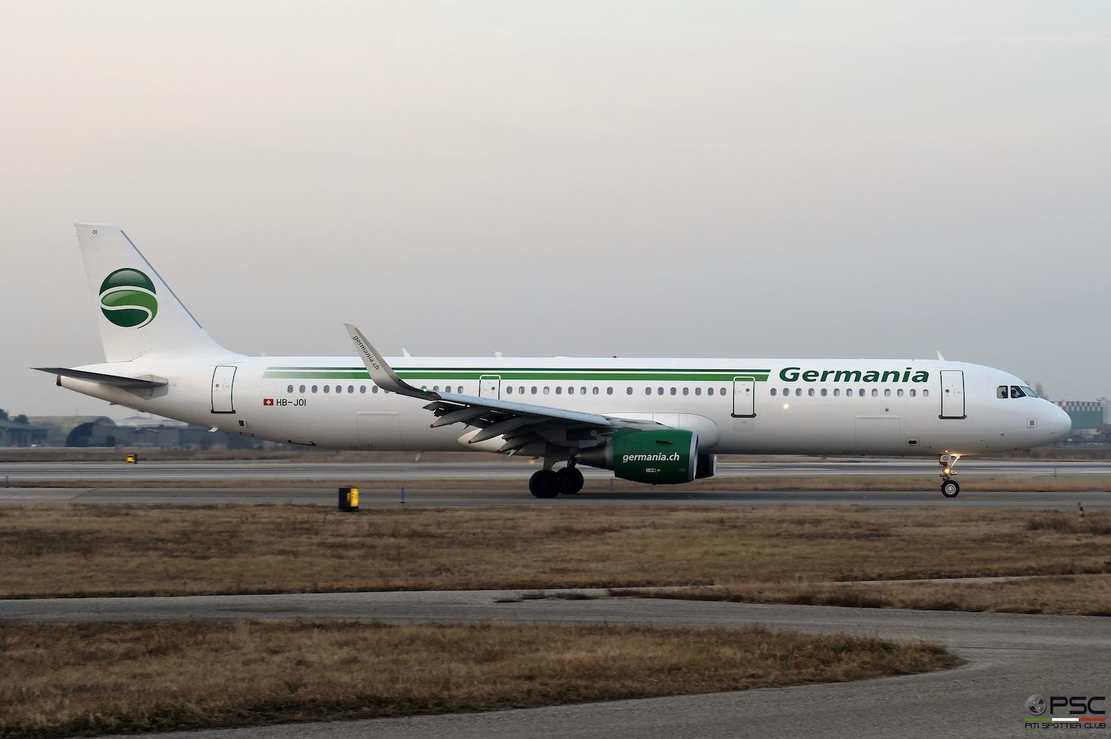 HB-JOI A321-211 5843 Germania Flug @ Aeroporto di Verona - 28.01.2017  © Piti Spotter Club Verona