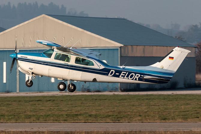 D-ELOR Cessna T210N Turbo Centurion @ Aeroporto Verona Boscomantico © Piti Spotter Club Verona