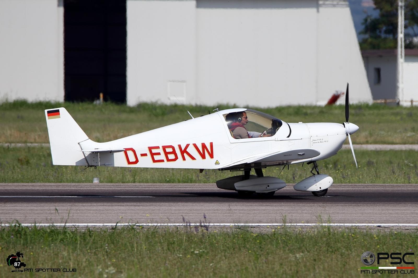 D-EBKW Private Pottier P180S. @ Aeroporto di Verona - 20/08/2016 © Piti Spotter Club Verona