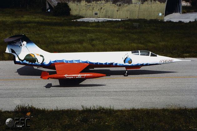 MM6513   F-104G  6513 @ Aeroporto di Verona © Piti Spotter Club Verona