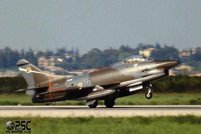 MM6382  2-20  G91R/1B  186 @ Aeroporto di Verona   © Piti Spotter Club Verona