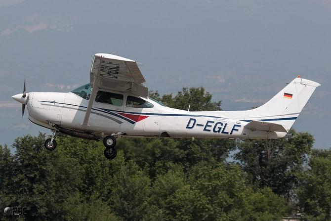 D-EGLF Reims FR182 Skylane RG II @ Aeroporto Verona Boscomantico © Piti Spotter Club Verona