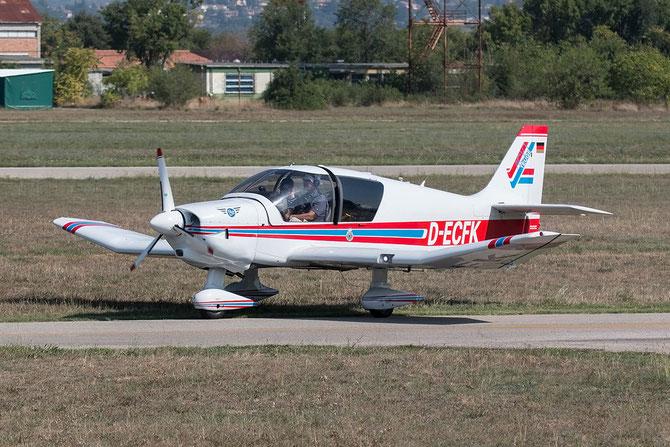 D-ECFK - Robin DR.400 series @ Aeroporto Verona Boscomantico © Piti Spotter Club Verona