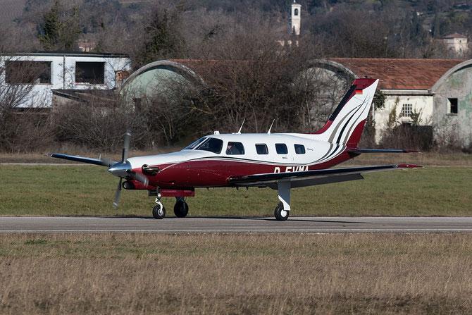 D-EVMA - Piper PA-46-310P Malibu @ Aeroporto Verona Boscomantico © Piti Spotter Club Verona