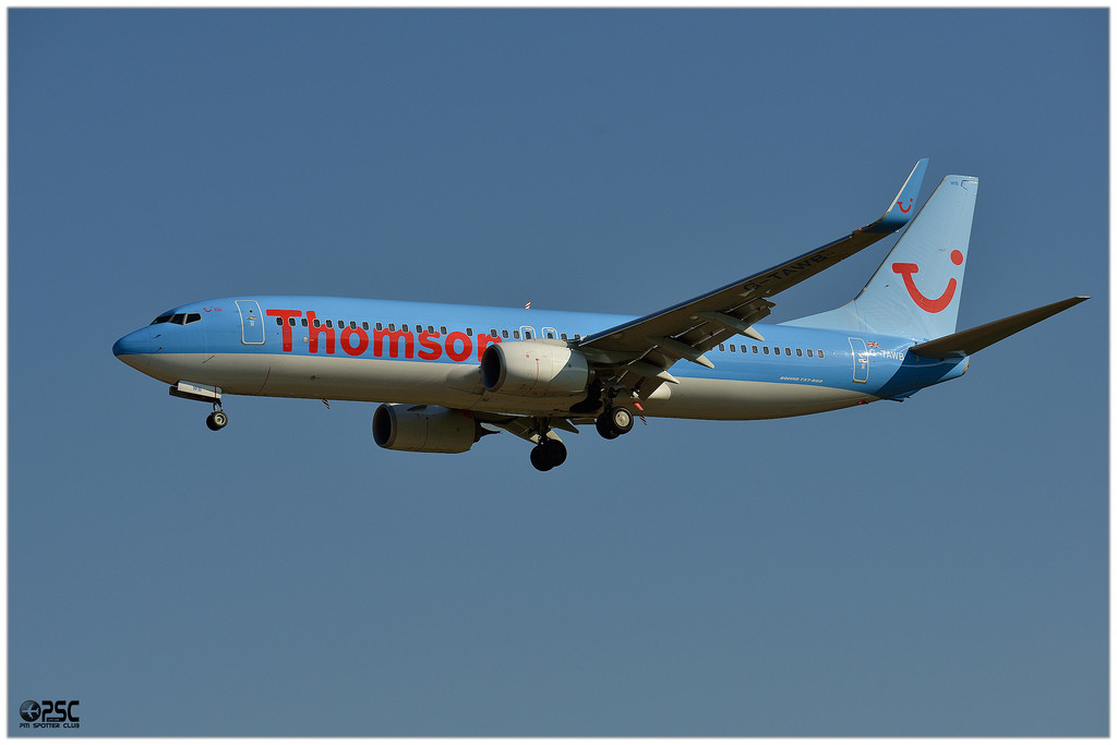 Boeing 737 Next Gen - MSN 37242 - G-TAWB  Airline Thomson Airways