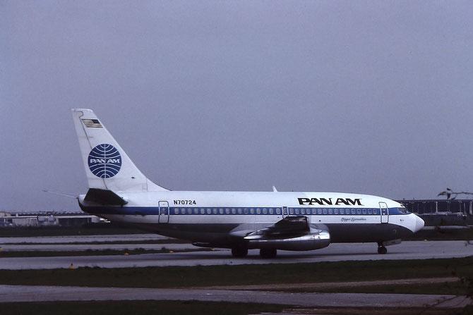 N70724  B737-297  21740/562  Pan Am - Pan American World Airways  @ Aeroporto di Verona © Piti Spotter Club Verona