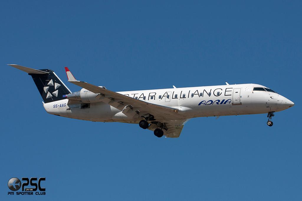 Canadair Regional Jet - MSN 7384 - S5-AAG  Airline Adria Airways