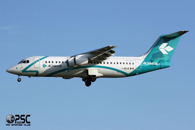 I-ADJG BAe146-300 E3169 Air Dolomiti