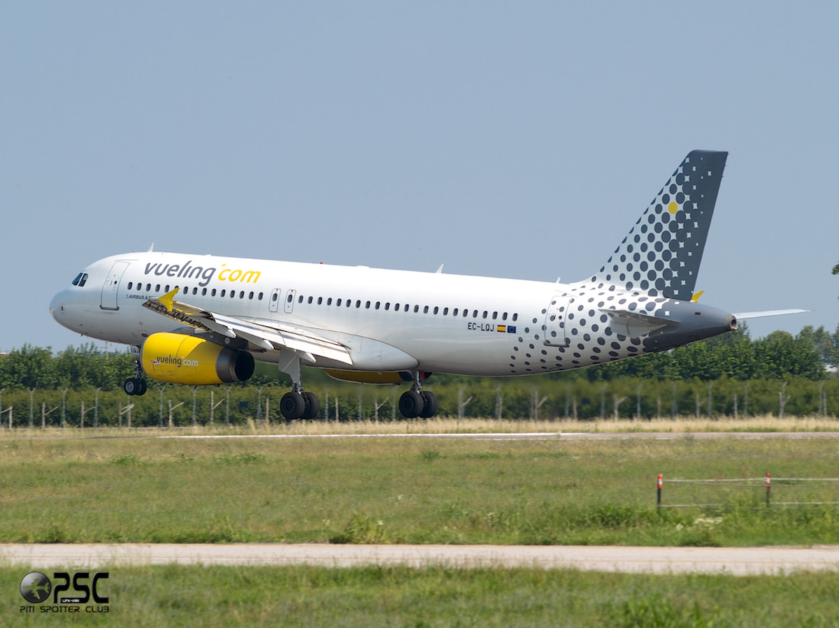 Airbus A320 - MSN 1979 - EC-LQJ  Airline Vueling Airlines