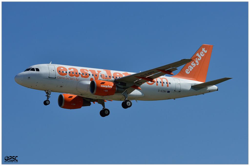 Airbus A319 - MSN 3122 - G-EZBV  Airline EasyJet