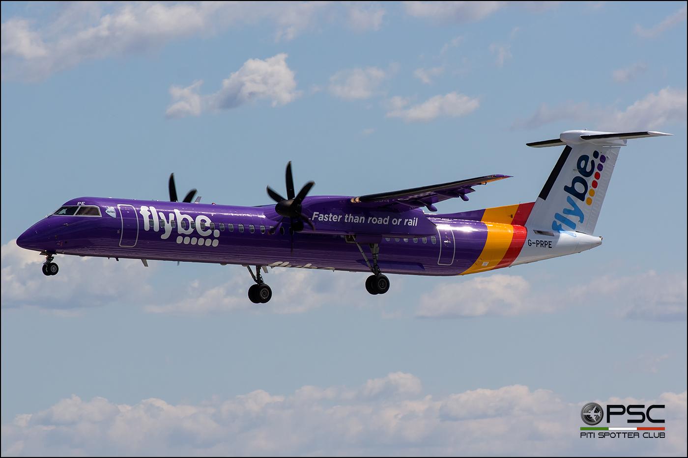 G-PRPE DHC-8-402 4209 Flybe - British European @ Aeroporto di Verona - 06/08/2016 © Piti Spotter Club Verona