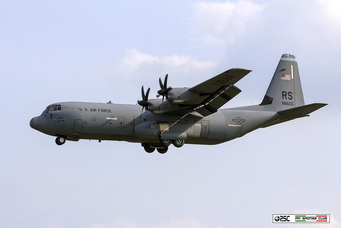 08-8605  YJ  C-130J-30  382-5615  36th AS © Piti Spotter Club Verona