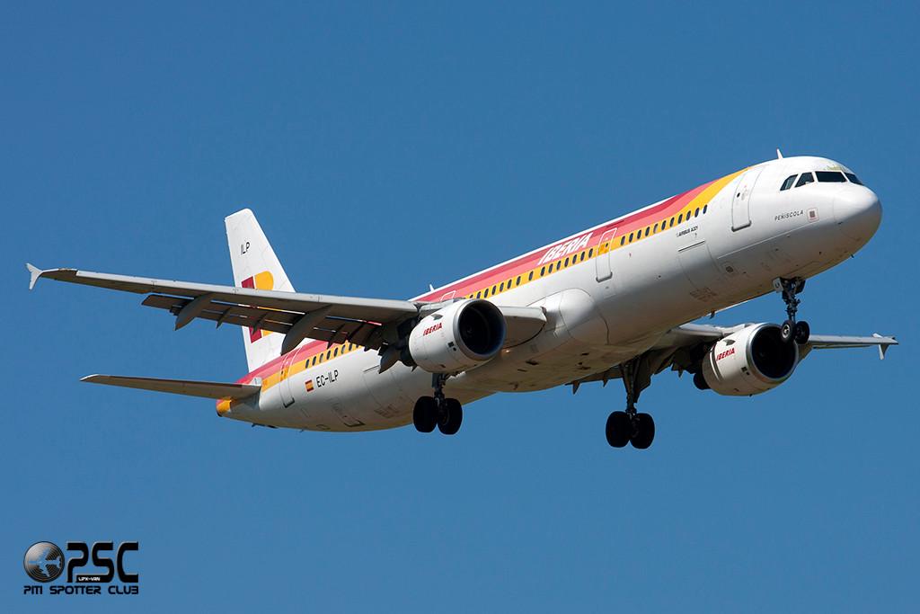 Airbus A321 - MSN 1716 - EC-ILP  Airline Iberia