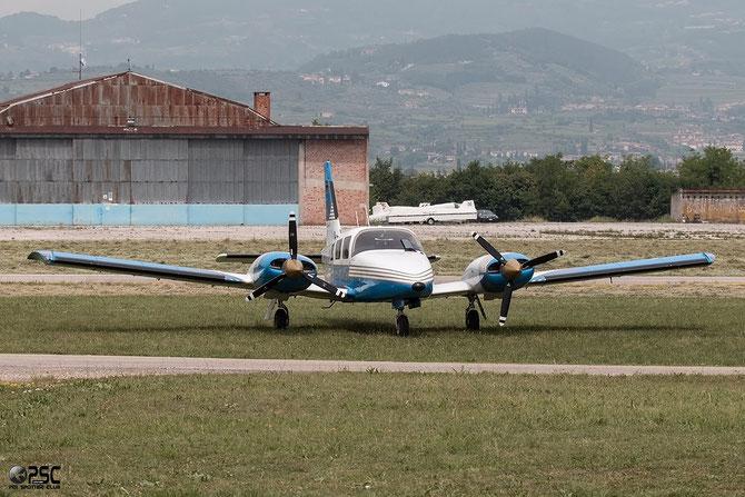 OE-FDO Piper PA-34-220T Seneca III @ Aeroporto Verona Boscomantico © Piti Spotter Club Verona