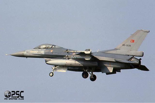 89-0035   F-16C-40-CF  4R-53  152 Filo @ Aeroporto di Verona   © Piti Spotter Club Verona
