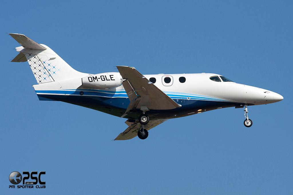 Opera Jet  Raytheon 390 Premier I  OM-GLE (cn RB-195)