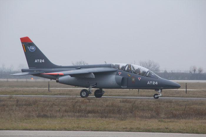 AT24   Alpha Jet 1B+  B24/1104  Beauvechain    © Piti Spotter Club Verona