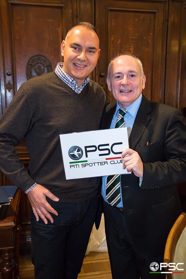 Mauro Cassaro, Presidente del PSC Verona e John.F.Alborante, Ryanair Sales & Marketing Manager Italy Greece and Croatia