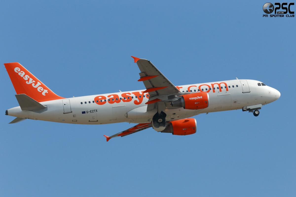 Airbus A320 - MSN 4286 - G-EZTX  Airline EasyJet