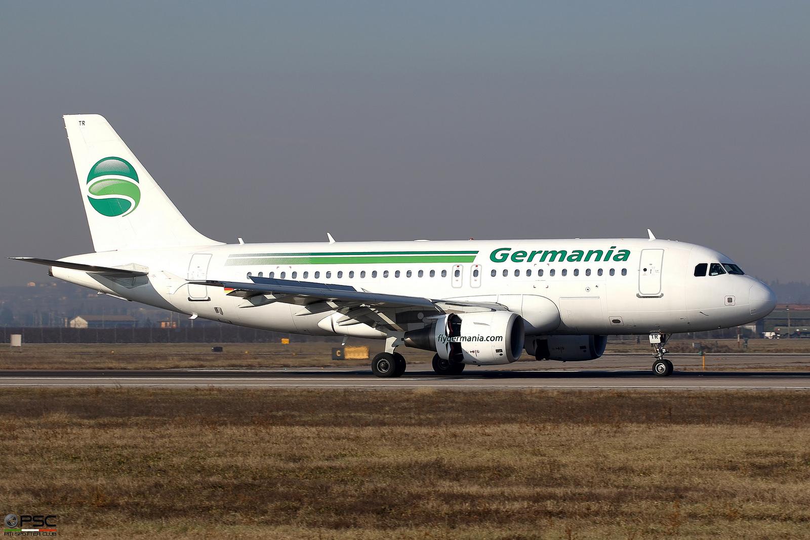 D-ASTR A319-111 3950 Germania @ Aeroporto di Verona - 31.12.2016  © Piti Spotter Club Verona