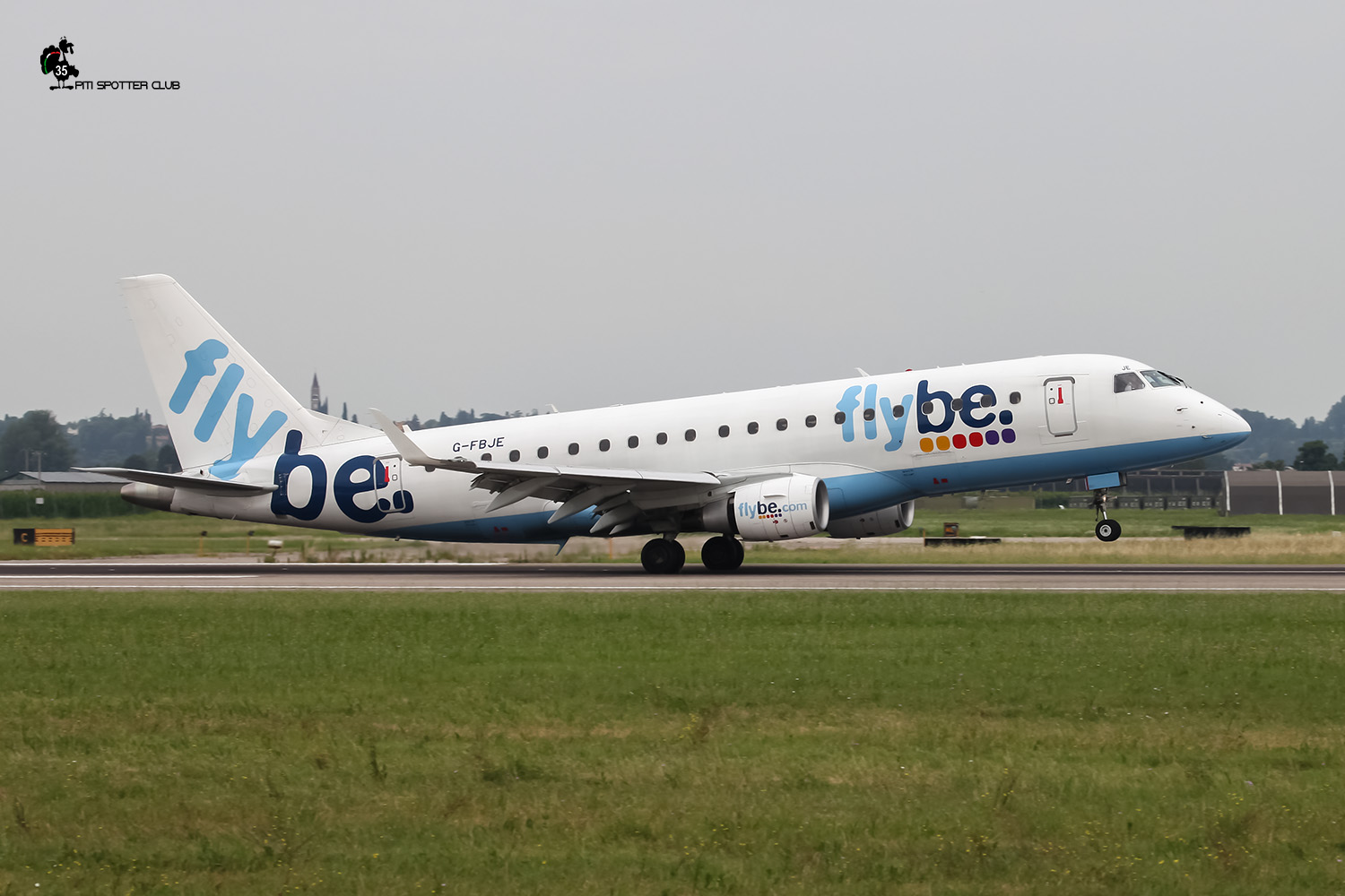 G-FBJE ERJ175STD 17000336 Flybe - British European