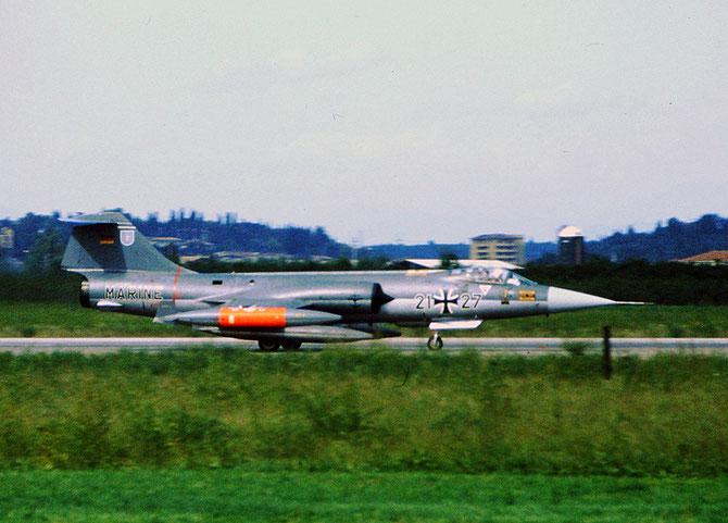 21+27   RF-104G  6688 @ Aeroporto di Verona   © Piti Spotter Club Verona