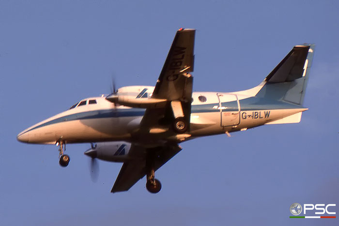 G-IBLW  BAe3109  838  Aliblu Airways @ Aeroporto di Verona © Piti Spotter Club Verona