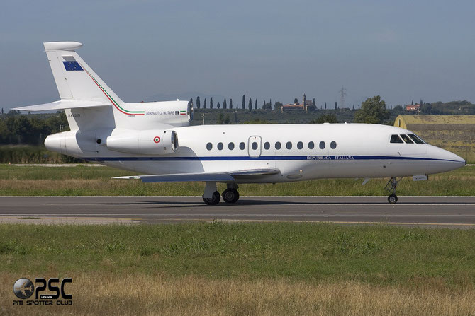 MM 62171 - Italy - Air Force Dassault Falcon 900EX - MM62171 @ Aeroporto di Verona © Piti Spotter Club Verona