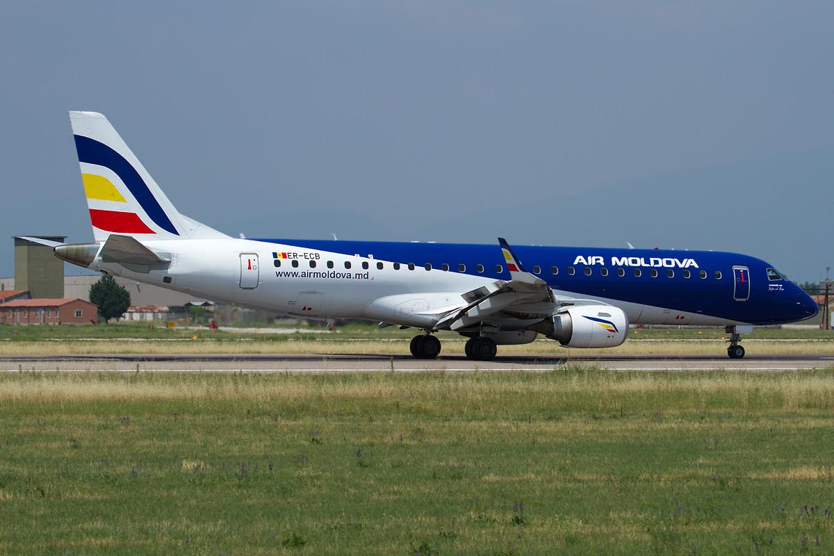 Embraer 190/195 - MSN 325 - ER-ECB  Airline Air Moldova