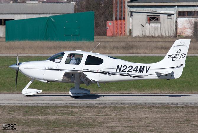 N224MV Cirrus SR-22 @ Aeroporto Verona Boscomantico © Piti Spotter Club Verona
