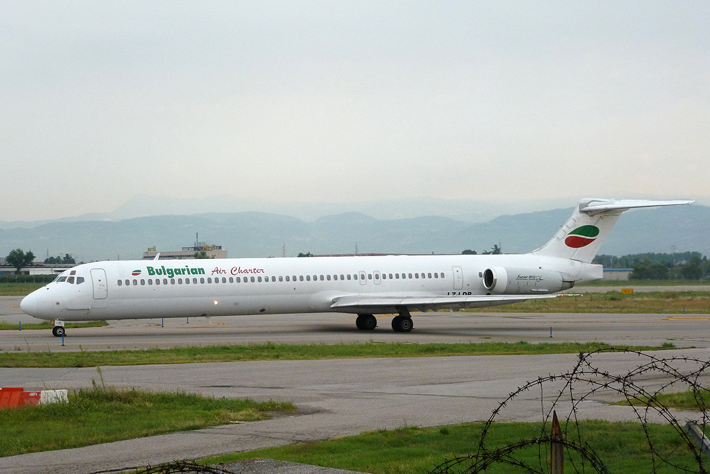 McDonnell Douglas MD-80/90 - MSN 49973 - LZ-LDP  Airline Bulgarian Air Charter