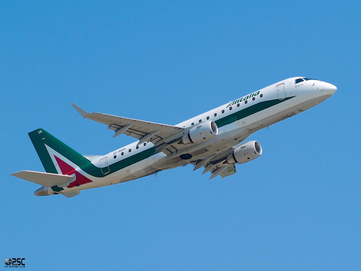 Embraer 170/175 - MSN 343 - EI-RDK  Airline Alitalia CityLiner