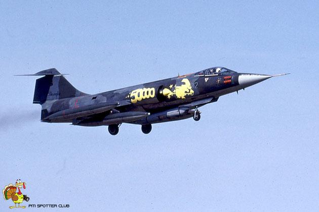 MM6545 3-32 F-104G 6545 @ Aeroporto di Verona © Piti Spotter Club Verona Trascina qui le foto
