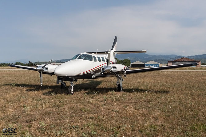 N6498B - Cessna 303 Crusader @ Aeroporto Verona Boscomantico © Piti Spotter Club Verona