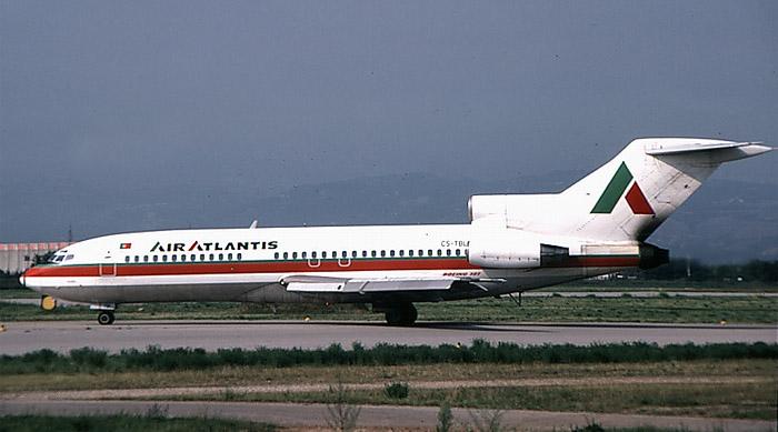 CS-TBL  B727-82  19405/398  Air Atlantis  @ Aeroporto di Verona © Piti Spotter Club Verona