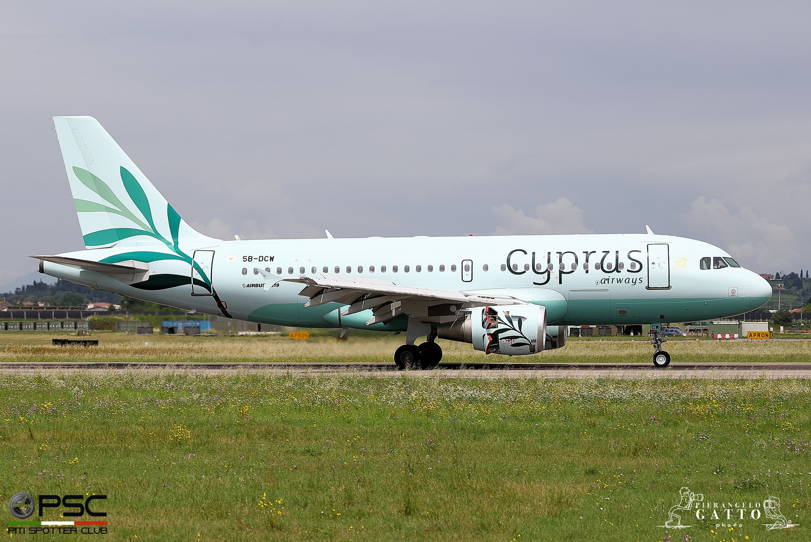 5B-DCW A319-114 1129 Cyprus Airways