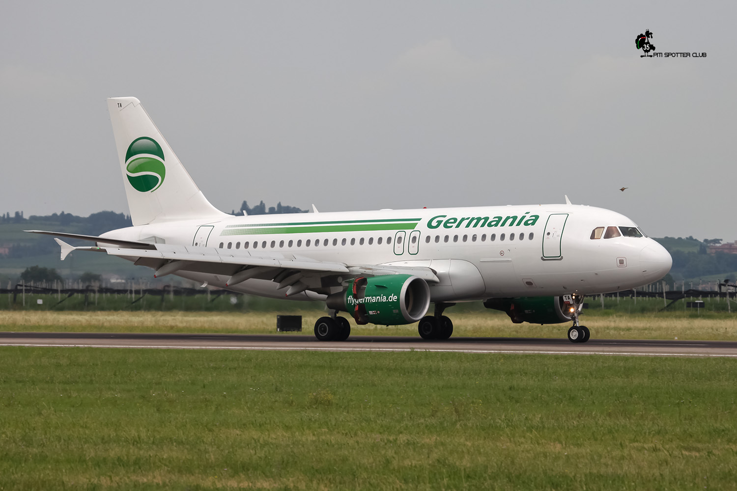 D-ASTA A319-112 4663 Germania Flug