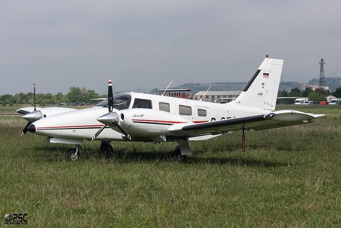 D-GEGH Piper PA-34-220T Seneca V @ Aeroporto Verona Boscomantico © Piti Spotter Club Verona
