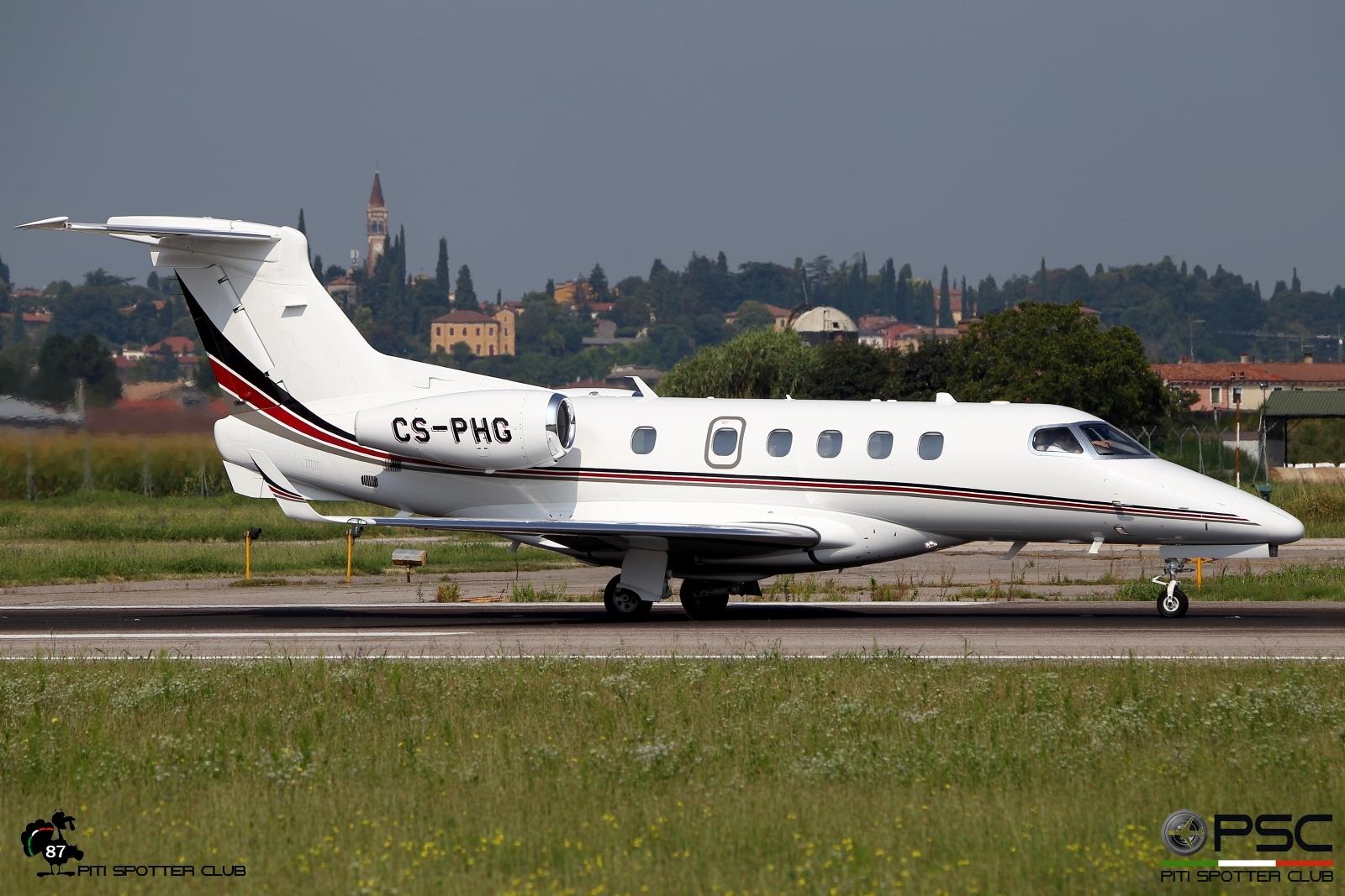 CS-PHG EMB505 50500264 NetJets Europe @ Aeroporto di Verona - 20/08/2016 © Piti Spotter Club Verona