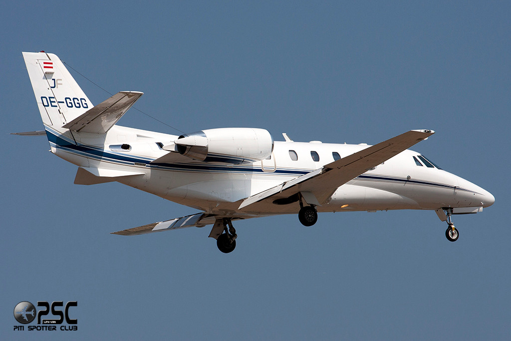 Jetfly Airlines - Cessna 560XL Citation Excel  OE-GGG (cn 560-6013)