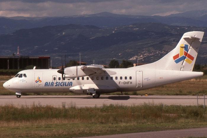 F-OHFH  ATR42-310  067  Air Sicilia  @ Aeroporto di Verona © Piti Spotter Club Verona