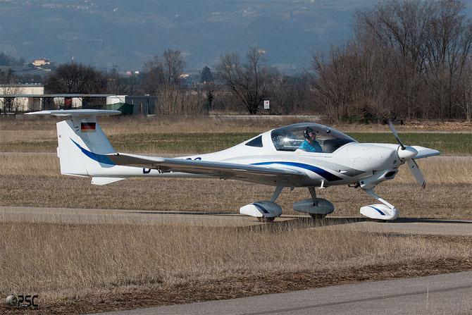 D-EZGS - Diamond Aircraft Industries DA-40 Diamond Star DA40 40.008 @ Aeroporto Verona Boscomantico © Piti Spotter Club Verona