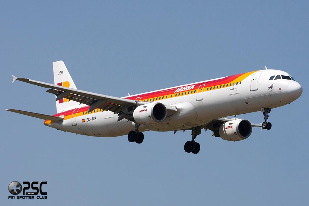 Airbus A321 - MSN 2996 - EC-JZM  Airline Iberia
