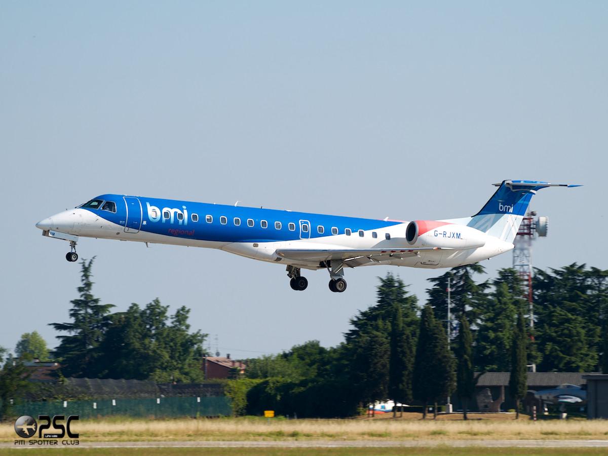 Embraer 135/145 - MSN 216 - G-RJXM  Airline bmi Regional