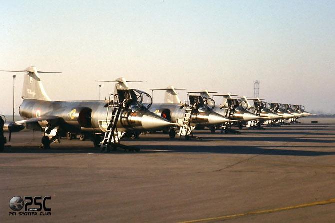 """Linea di volo del 2 dicembre 1989 in occasione della presentazione della """"Strega"""" @ Aeroporto di Verona © Piti Spotter Club Verona"""