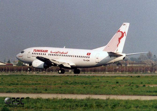 TS-IOH  B737-5H3  26640/2474  Tunisair @ Aeroporto di Verona © Piti Spotter Club Verona