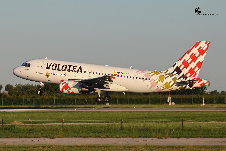 EI-FMY A319-111 2253 Volotea Air @ Aeroporto di Verona - 23/08/2016 © Piti Spotter Club Verona