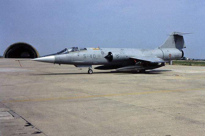 MM6719  5-01  (5-40) F-104S-ASA-M  1019 © Piti Spotter Club Verona
