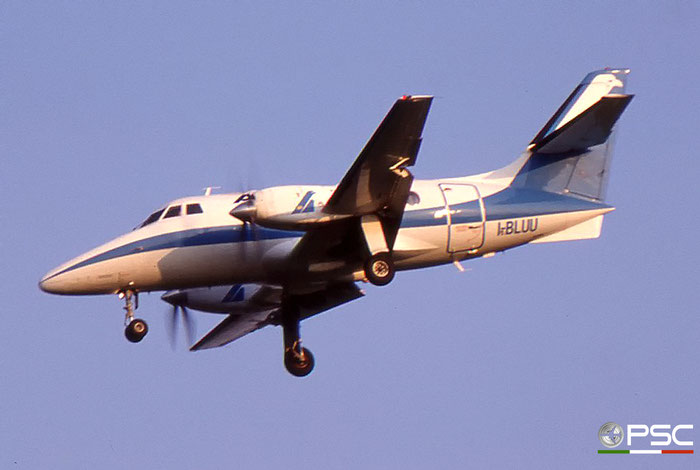 I-BLUU  BAe3109  727  Aliblu Airways  @ Aeroporto di Verona © Piti Spotter Club Verona