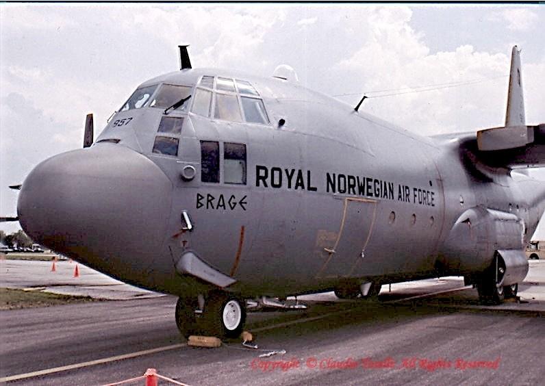 Lockheed C-130H Hercules, 957 / Brage, Norwegian Air Force,